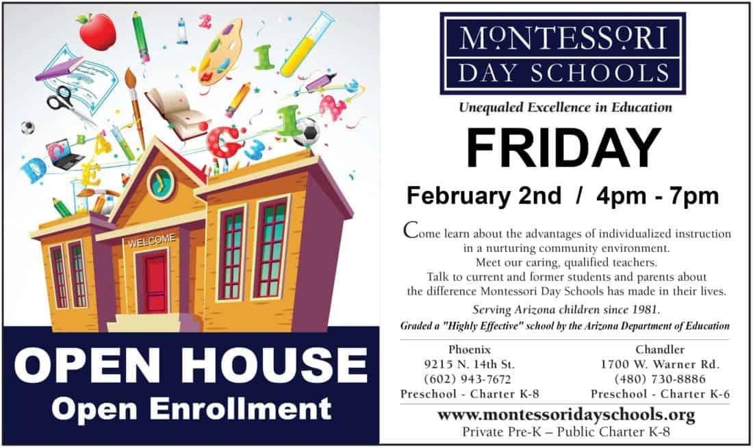 Montessori School Open House February 2018
